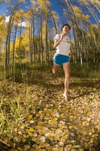 Jessica finds ultimate grace and poise through her barefoot running training routine.